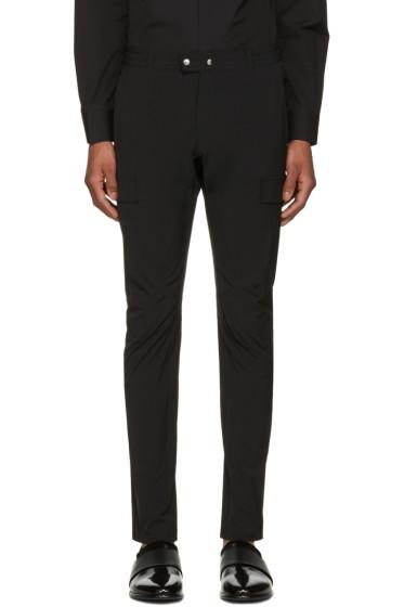 Philippe Dubuc - Black Cargo Trousers
