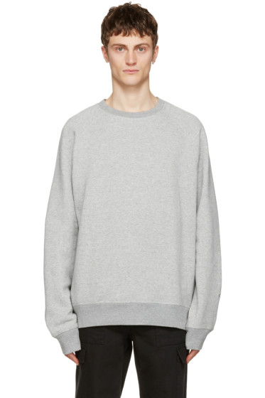 Childs - Grey Crew Pullover