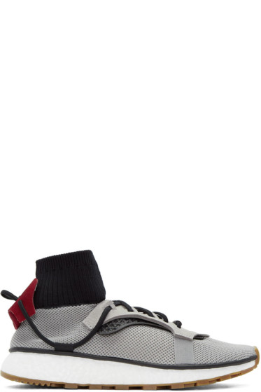 adidas Originals by Alexander Wang - Grey Run Sneakers