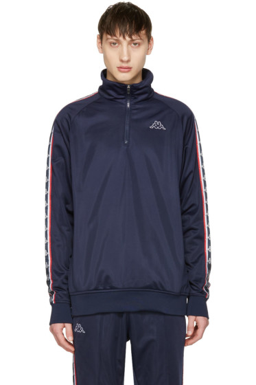 Kappa - SSENSE Exclusive Navy Track Jacket