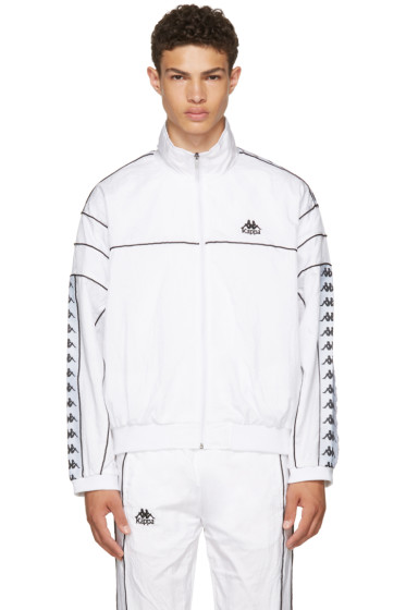 Kappa - SSENSE Exclusive White Windbreaker Track Jacket