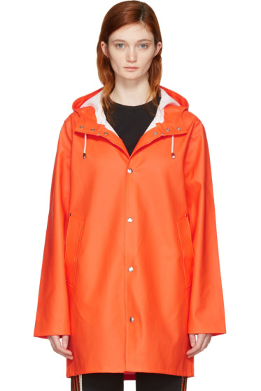 Stutterheim - Orange Stockholm Raincoat
