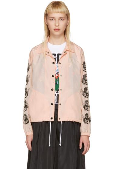Ashley Williams - Pink Cherub Coach Jacket