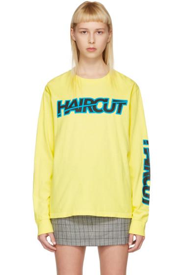 Ashley Williams - Yellow 'Haircut' T-Shirt