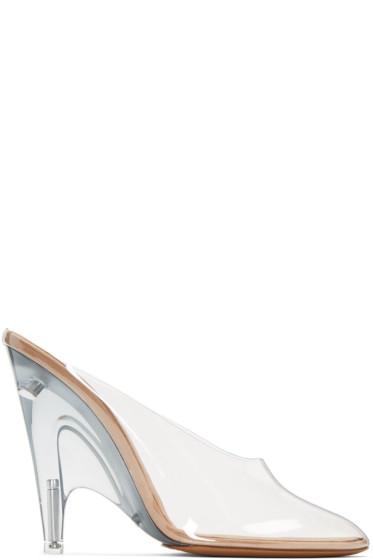 YEEZY - Transparent PVC Mules