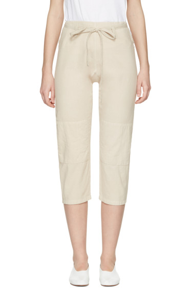 69 - Beige Chambray Karate Jeans
