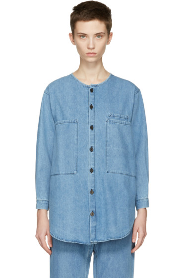 69 - Blue Chill Dude Shirt