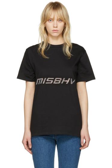 MISBHV - ブラック テクノ T シャツ