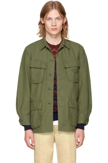 - Khaki Type 5 Fatigue Jacket