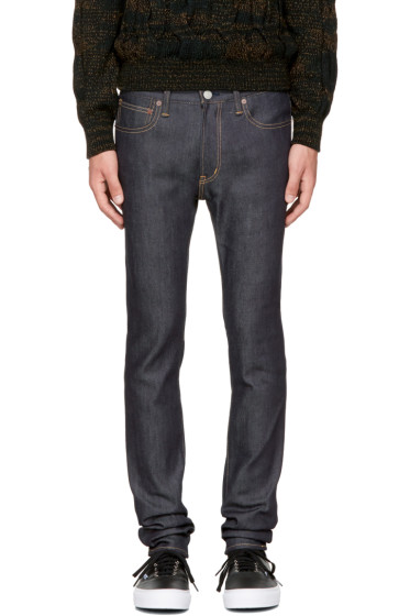 - Indigo Skinny Stretch Jeans
