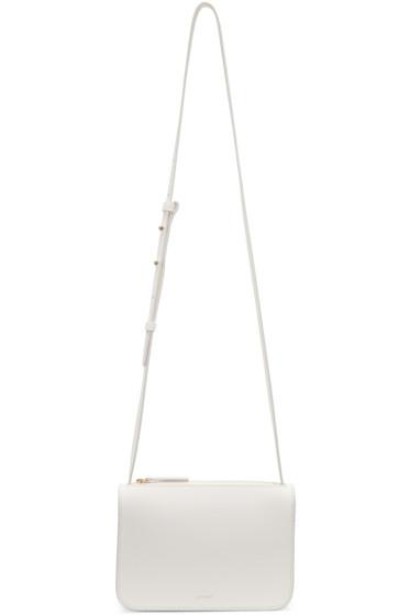 Cuero&Mor - White Mini Crossbody Bag