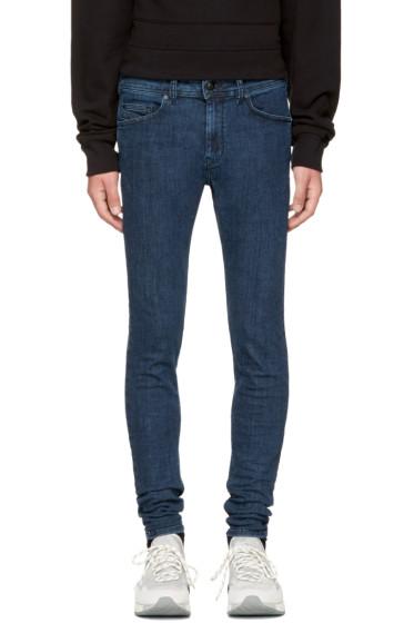 Diesel - Blue Stickker Jeans