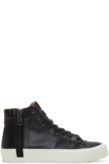 Diesel - Black S-Voyage High-Top Sneakers