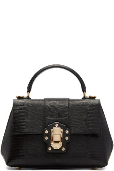Dolce & Gabbana - Black Medium Lucia Bag