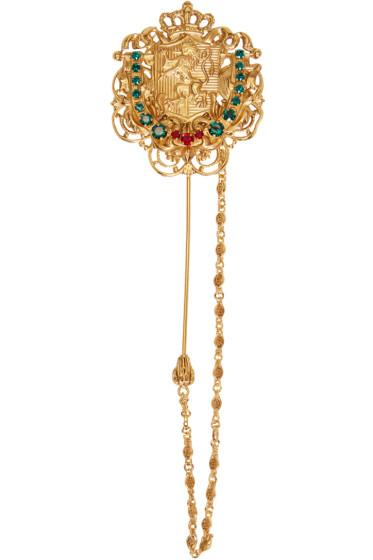 Dolce & Gabbana - ゴールド クレスト ピン