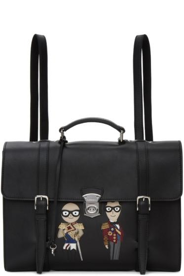 Dolce & Gabbana - ブラック デザイナー ブリーフケース