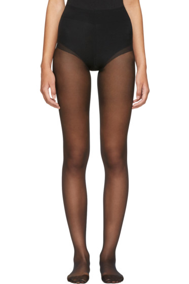 Wolford - Black Seamless Pure 10 Tights