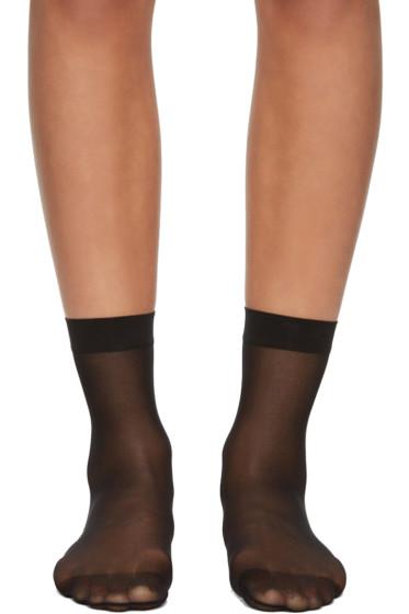 Wolford - Black Individual 10 Socks