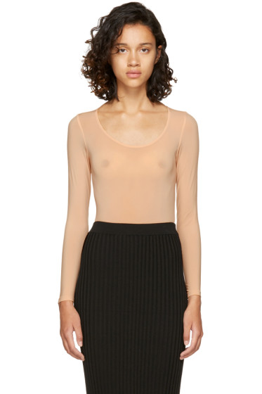 Wolford - Tan Buenos Aires String Bodysuit