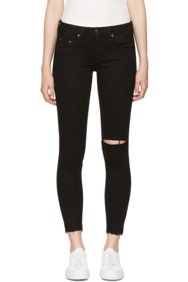 Rag & Bone - Black Capri Jeans