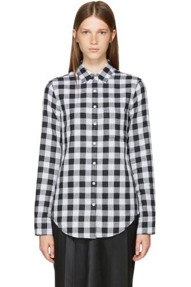 Rag & Bone - Black & White Classic Gingham Shirt