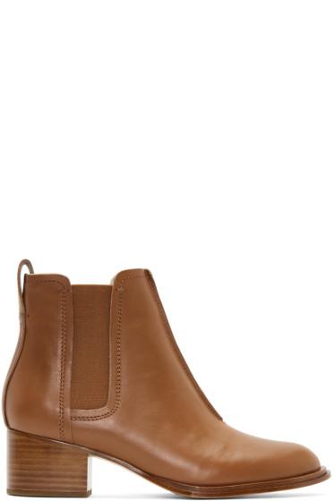 Rag & Bone - Tan Walker II Boots