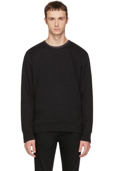 Nudie Jeans - Black Evert Light Sweatshirt