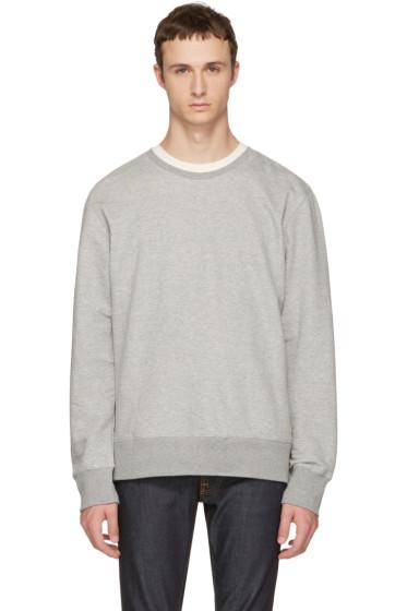 Nudie Jeans - Grey Evert Light Sweatshirt
