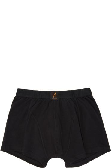 Nudie Jeans - Black Solid Boxer Briefs