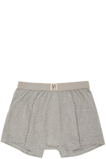 Nudie Jeans - Grey Solid Boxer Briefs