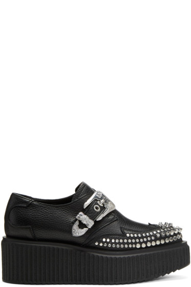 McQ Alexander McQueen - Black Nevada Creeper Monkstraps