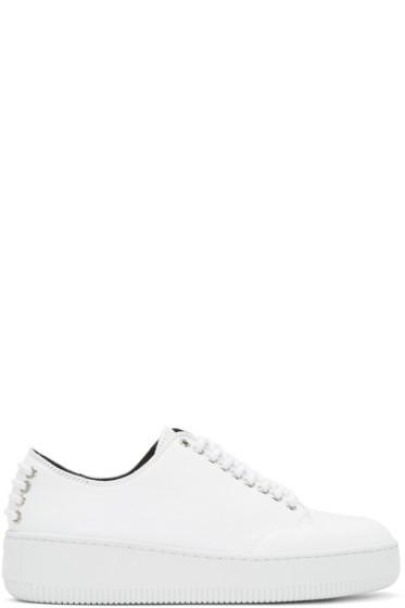 McQ Alexander McQueen - White Netil Eyelet Sneakers