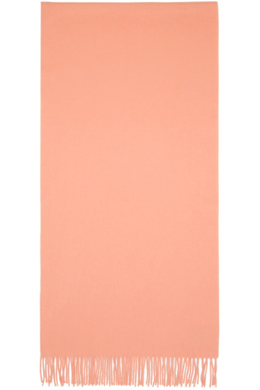 Acne Studios - Pink Canada Narrow Scarf