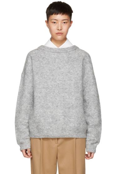 Acne Studios - グレー モヘア ドラマティック セーター