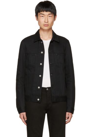 Acne Studios - Black Denim Pass Jacket