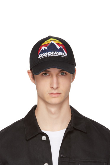 Dsquared2 - Black Mountains Logo Cap