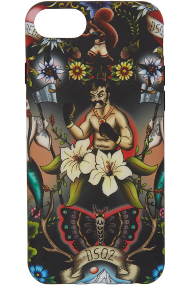 Dsquared2 - Multicolor Tattoo iPhone 7 Case