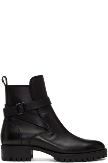 Dsquared2 - Black Buckle Boots