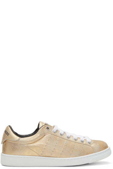 Dsquared2 - Gold Santa Monica Sneakers