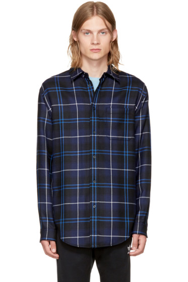 Alexander Wang - Multicolor Patchwork Shirt