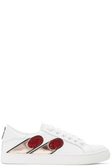 Marc Jacobs - White Empire Finger Sneakers