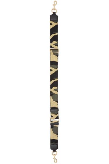 Marc Jacobs - Multicolor Camo Shoulder Strap