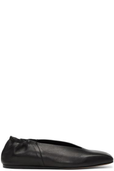 Rick Owens - Black Geoballerina Flats