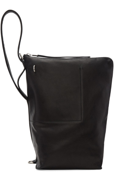 Rick Owens - Black Bucket Bag