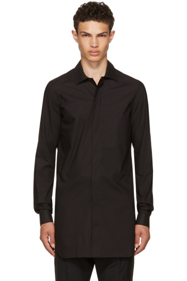 Rick Owens - Black Office Shirt