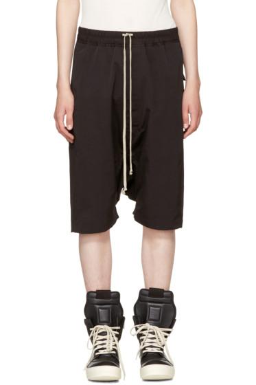 Rick Owens - Black Rick's Pods Shorts