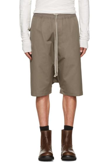 Rick Owens - Grey Rick's Pods Shorts