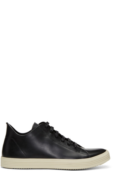 Rick Owens - Black Mastodon Low Sneakers