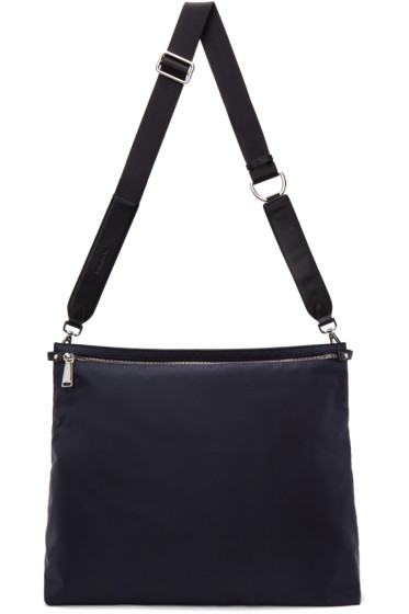 Jil Sander - Navy Nylon Messenger Bag