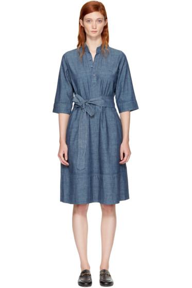 A.P.C. - Indigo Oleson Dress